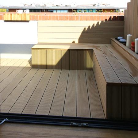Taras na balkonie, Twinson Morelowy